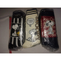 Calcetines Mickey Garfield Snoopy Unitalla Elastico Mayoreo