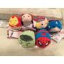 Tsum Tsum Mini Avengers 6 Piezas Disney Store Originales