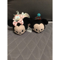 Tsum Tsum Mini Mickey Y Mimi Birthday 2016 Disney Store 8cm