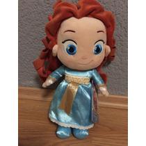 Merida Toddler Peluche Valiente Disney Store Original 27cm