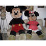 Mickey Y Minnie Mouse Gigantes Tamaño Real