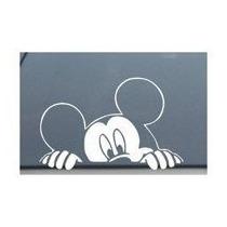 Ventana De Mickey Mouse De Disney Echar Un Vistazo Mirar Car