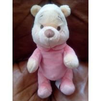Precioso Winnie Pooh Bebe Peluchel Suave Y Fino