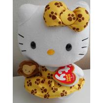 Hermoso Peluche De Hello Kitty Ty Changuito! San Valentin