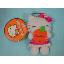 Kitty Llavero Cn Naranja Original Amiga D Batz Maru Chococat