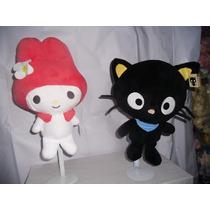 Hello Kitty Serie De Tres Personajes 38 Cms $ 1,300.00flr