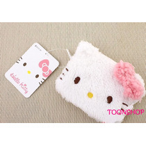 Hello Kitty Lindo Monedero De Peluche Sanrio Japon 100%