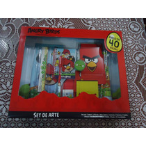 Lote Set De Actividades D Angry Birds De Disney 40 Pzas