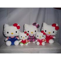 Hello Kitty 3 De30cms Y 2 De 15cms $1360.00 Envio Gratis