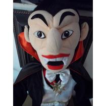 Peluche Conde Dracula Nosferatu Terror Horror Retro Vampiro