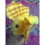 Pescado Amarillo Exotico De Peluche