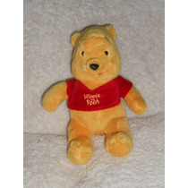Disney!! Peluche De Winnie Pooh Super Suavecito! 23cm!!