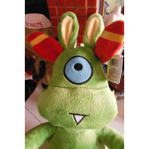 Peluche Green Cyclops Monster By Fiesta Toy One Tooth