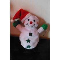 Peluche Snowman Navidad Christmas By Boley Muñeco De Nieve
