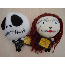 Jack Y Sally Cabezones Peluches Genial Nightmare Before