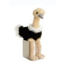 Avestruz De Peluche Aurora Mini Flopsie
