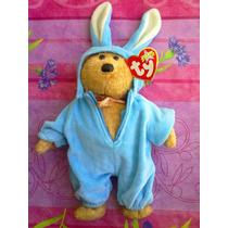 Beanie Babies Ty Peluche De Osito Vestido De Conejo