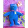 Beanie Babies Ty Peluche De Osito Azul 25 Anos Mc Donalds