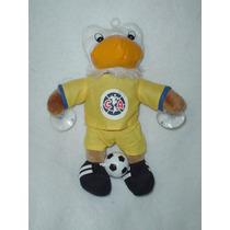 Aguila Del America Mascota De Futbol Con Sus Tacos Y Balon