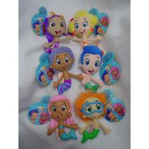 Bubble Guppies 18cms Altos Muñecos C/arnés Originales Nuevos