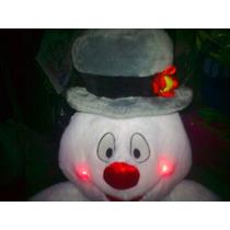 Mono De Nieve De Peluche Con Luces Frosty The Snowman