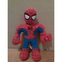 Spiderman Hombre Arana Peluche Con Sonido