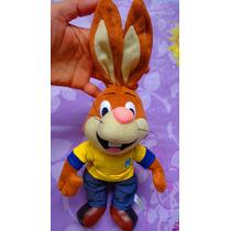 Peluche De Conejo Chocolate Nesquik Vestido Casual