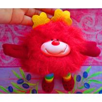 Rainbow Brite Peluche De Duende Rojo Vintage De 1983