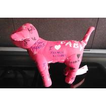 Peluche Perrito Pink Victoria Secret Mascot Pet Rosa Dog