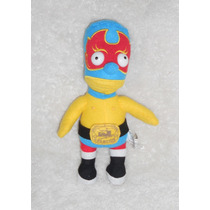 Peluche Bart Simpson Luchador, Mide 25cm, Original, Crt25