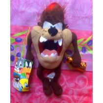 Looney Tunes Peluche De Taz Con Corneta