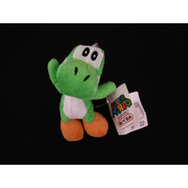 Llavero Peluche Yoshi Verde Mario Bros