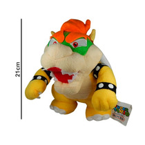Super Mario Bros. Peluche Bowser Original Kuppa Gran Detalle