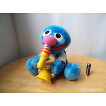 Peluche Musical Archibaldo Rock & Roll Grover Sésamo Mp104