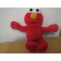 Elmo De Peluche Plaza Sesamo Sesame Street Remato