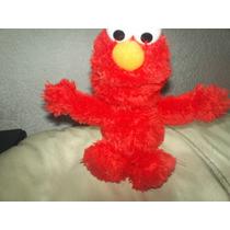Elmo Peluche Brilloso Suave Y Esponjado Mide 30cm
