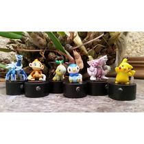 Figuras Pokemon Lamparita Led Y Sello, 100% Originales