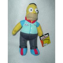 Homero Simpson Jugador De Bolos Nuevo Unico Original