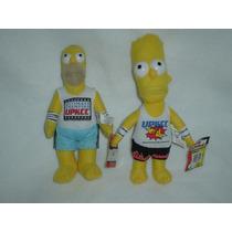 Bart Y Homero Simpson De La Upkcct Artes Marciales Mixtas