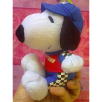 Snoopy Peluche Vestido Traje De Carreras