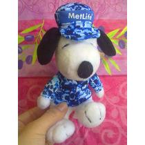 Snoopy Peluche Vestido De Militar