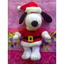 Snoopy De Peluche Vestido De Santa