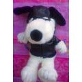Snoopy De Peluche Vestido De Motociclista
