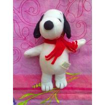 Snoopy Peluche Vestido De Piloto