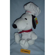 Snoopy Chef Solo Los Mejores Personajes Con Depeluche