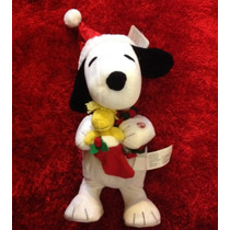 Snoopy Peluche Navidad Musical Baila