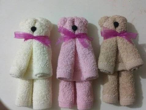 Como hacer ositos de toalla - Imagui