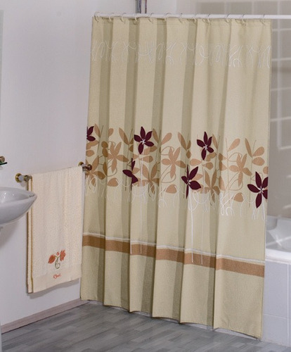 Cortinas de ba o concord for Ganchos para cortinas de bano