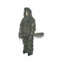 Traje De Camuflaje Classic Safari 4pc Woodland Ghillie Suit