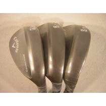 Set De Wedges Callaway Mac Daddy 2: 52,56,60 Grados
